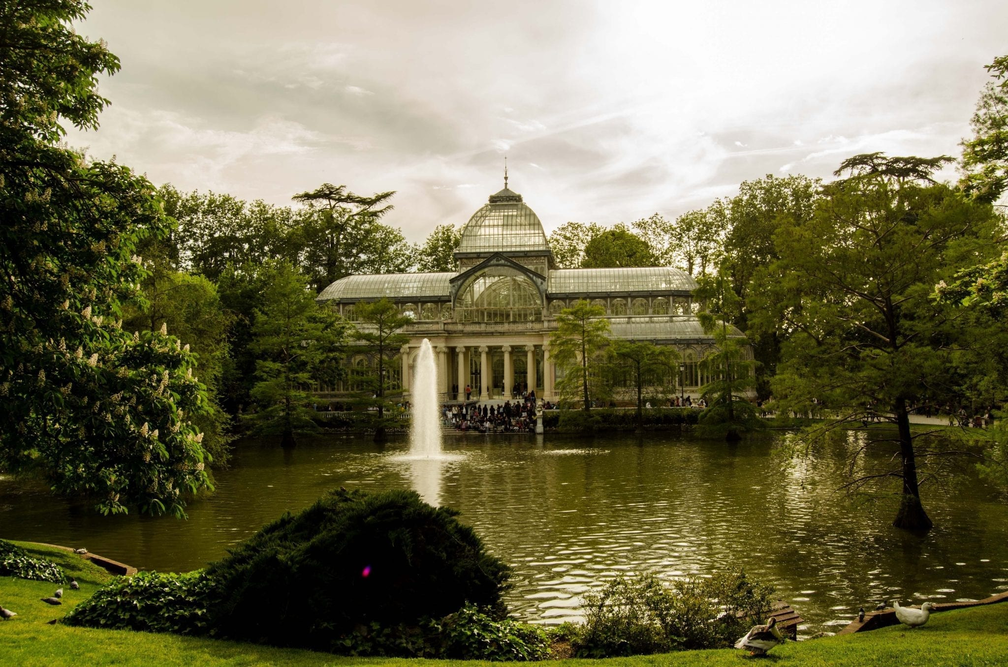 The Glass Palace at the Retiro