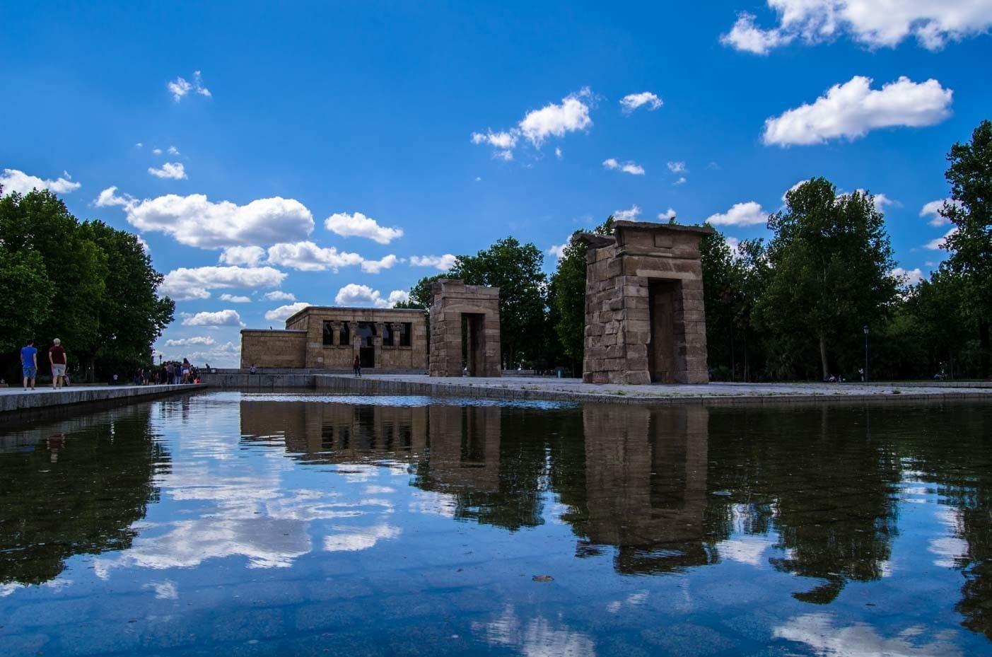 Templo de Debod Madrid egyptian piece