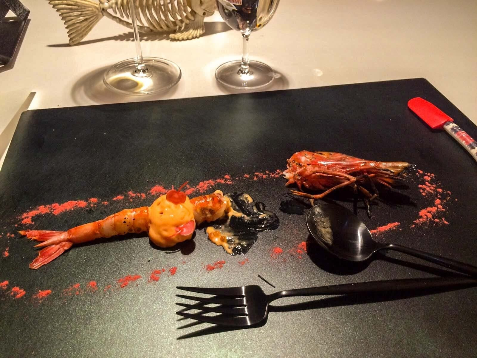 DiverXO restaurant 3 stars Michelin
