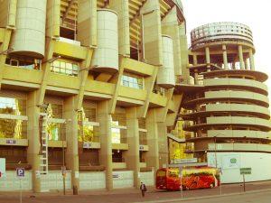 Real Madrid Santiago Bernabeu stadium